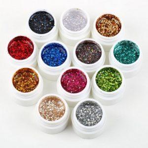 UV Цветен гел 12 цвята