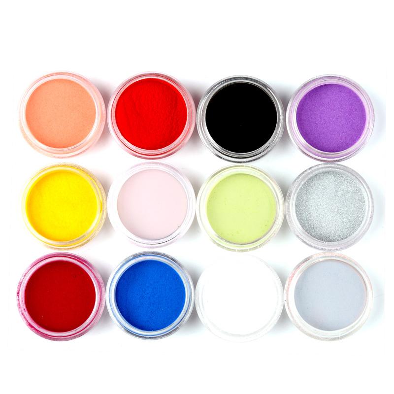 Цветен акрил 12 цвята