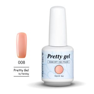 Pretty Gel 008-Праскова 15 мл.