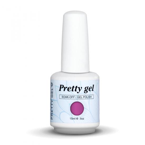 Pretty Gel 056-Тъмно парти лилаво 15 мл.