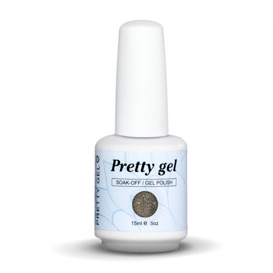 gel-lak-pretty-gel-246-zlatno-siten-brokat-nail