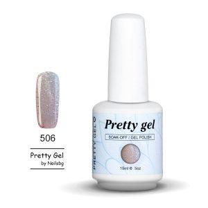 gel-lak-pretty-gel-506-bledo-rozov-sus-sreburni-chastici-15ml-01