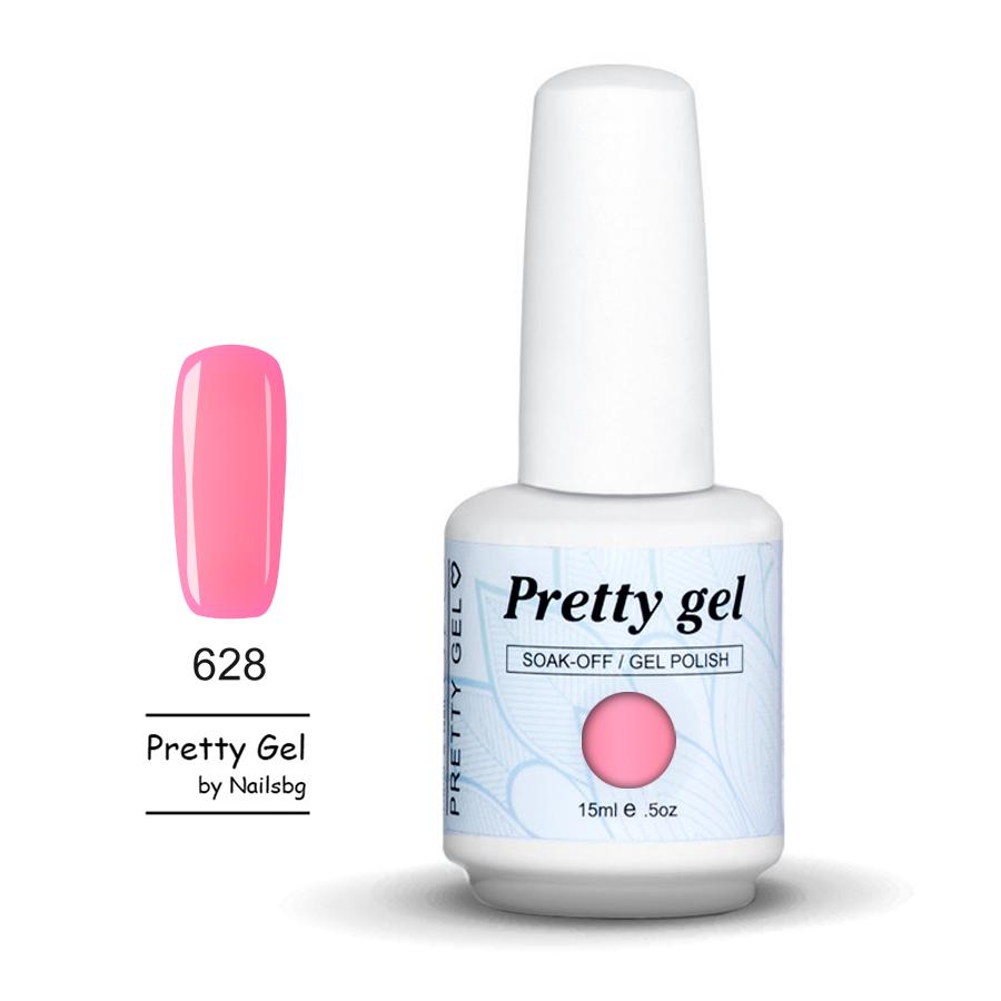 gel-lak-pretty-gel-628-antichno-rozovo-nail