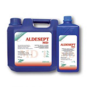 Aldesept MD – концентриран препарат за почистване и дезинфекция на медицински инструменти.