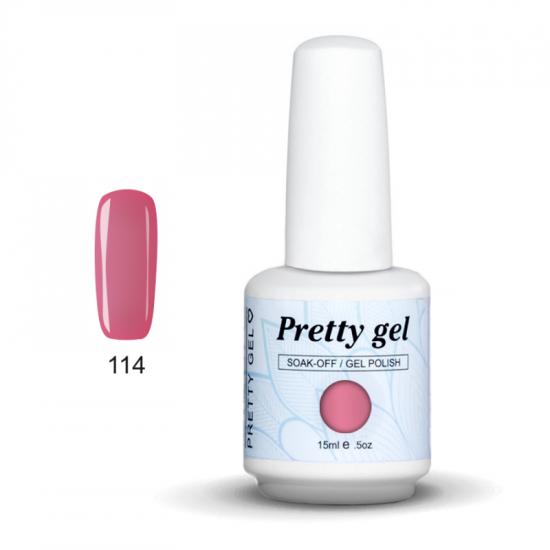 Pretty Gel 114 – Руж 15 мл.