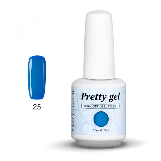 Pretty Gel 25 - Светло син пастел 15 мл.