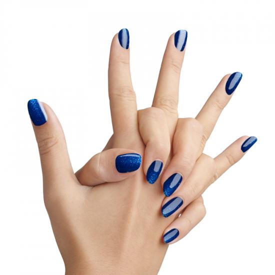 Pretty Gel 270 – Лазурно Синьо с Частици