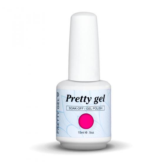 Pretty Gel 34 - Цикламено розов 15 мл.