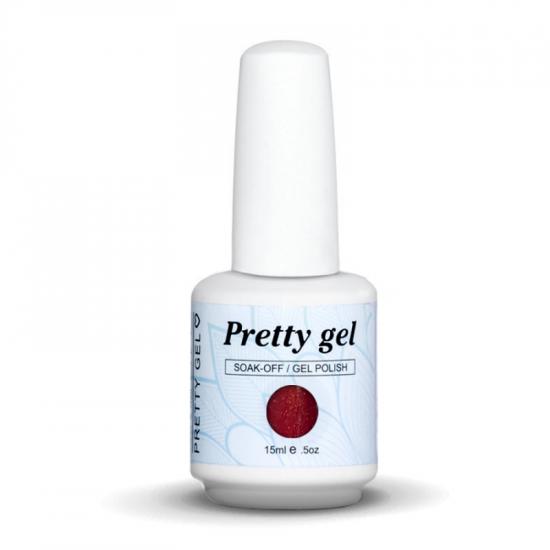 Pretty Gel 389 – Тъмно Розов Ситен Брокат