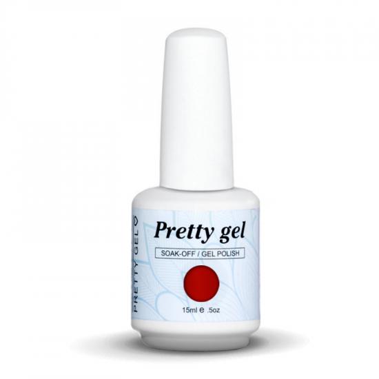 Pretty Gel 488 – Брокатена Червена Мечта