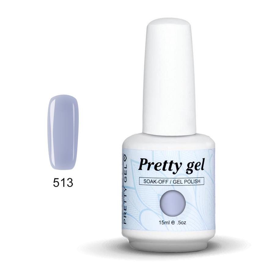 Pretty Gel 513 - Нежно лилав 15 мл.