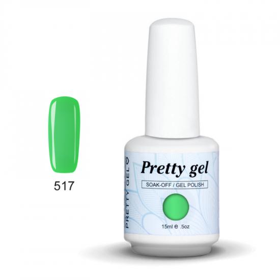 Pretty Gel 517 – Лайм 15 мл.