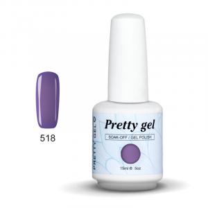 Pretty Gel 518 – Светло Лилав 15 мл.