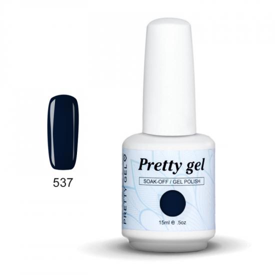 Pretty Gel 537 – Деним 15 мл.