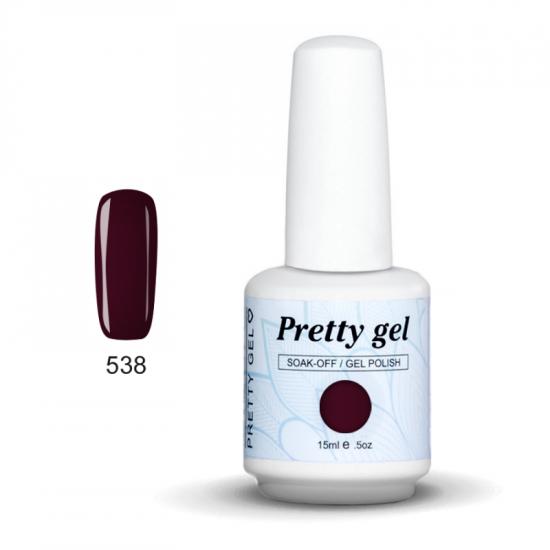 Pretty Gel 538 – Цвят Черница 15 мл.
