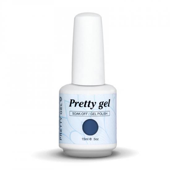 Pretty Gel 563 – Светло графитено синьо 15 мл.