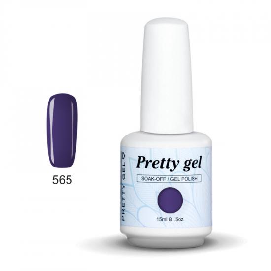 Pretty Gel 565 – Перуника 15 мл.