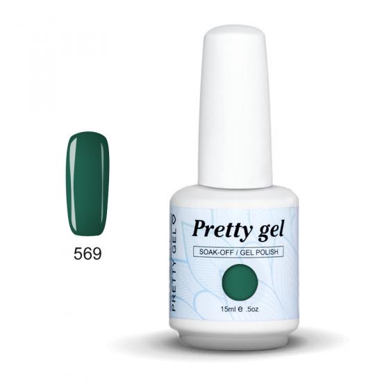 Pretty Gel 570 - Светло кремаво зелен 15 мл.