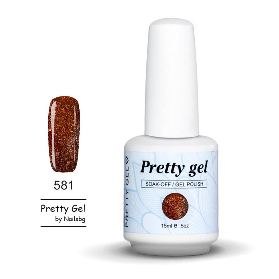 gel-lak-pretty-gel-581-kehlibar-s-chastici-15ml