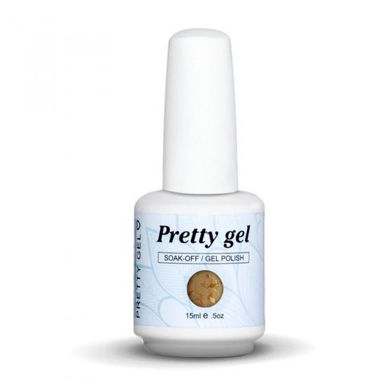 Pretty Gel 838 - Златна есен 15 мл.