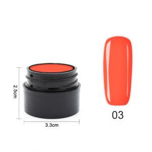 Цветен UV/LED гел Pretty 5 гр. – 03 Кремаво оранжев