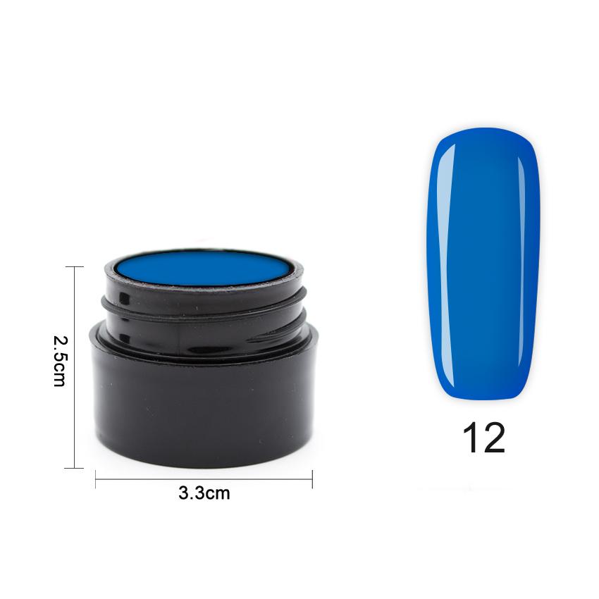 Цветен UV/LED гел Pretty 5 гр. – 12 Морско син