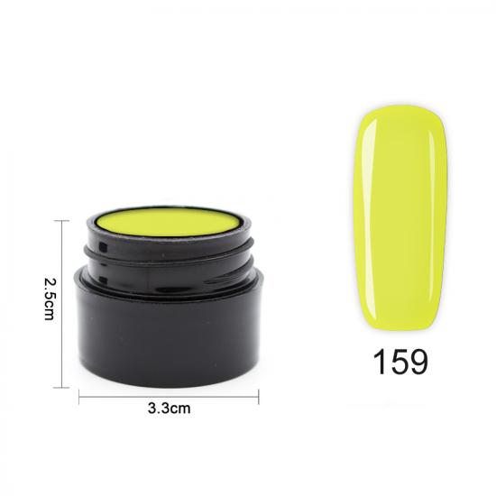 Цветен UV/LED гел Pretty 5 гр. – 159 Млечно жълто