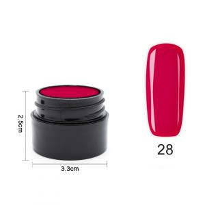 Цветен UV/LED гел Pretty 5 гр. – 28 Малина