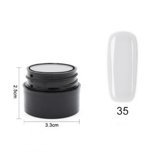Цветен UV/LED гел Pretty 5 гр. – 35 Бял