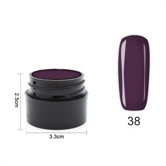 Цветен UV/LED гел Pretty 5 гр. – 38 Патладжан