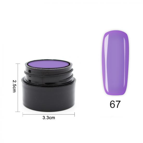 Цветен UV/LED гел Pretty 5 гр. – 67 Люляк
