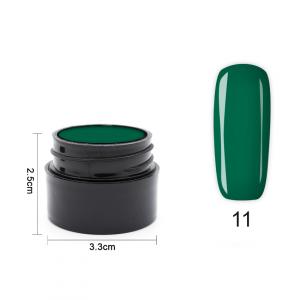 Цветен UV/LED гел Pretty 5 гр. – 11 Зелен