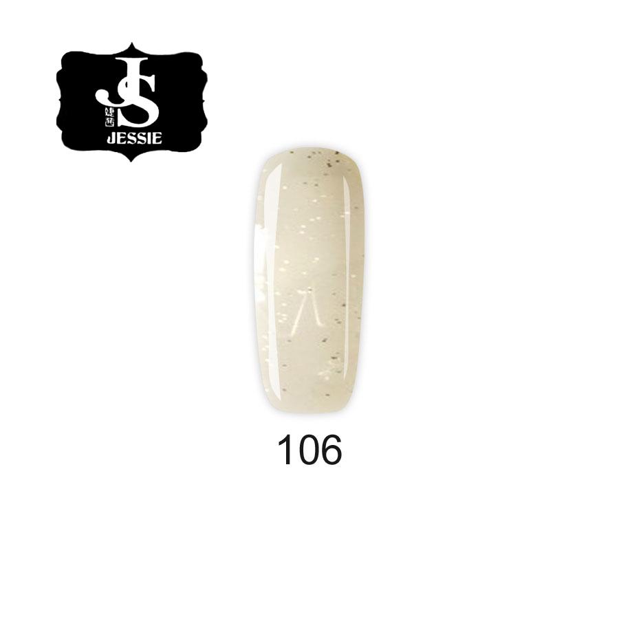 Jessie гел лак 106 - Прозрачен със сребристи частици 8 мл.
