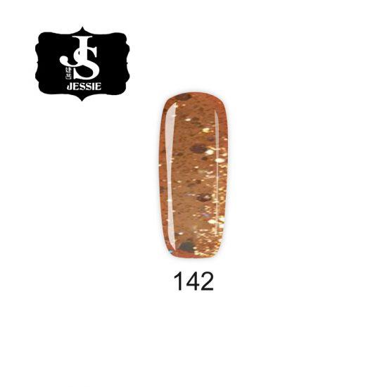 Jessie гел лак 142 - Светло злато 8 мл.
