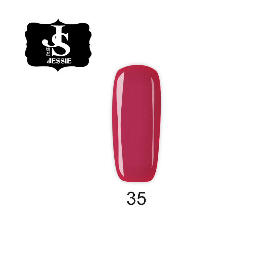 Jessie гел лак 035 - Червена циклама 8 мл.