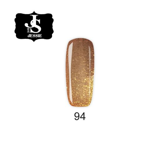 Jessie гел лак 094 - Течно злато 8 мл.